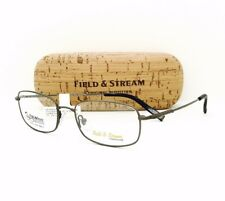 New Field & Stream Eyeglasses 030 Gun Flexx Technology 53•18•140 W/Original Case