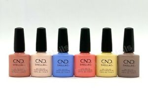 CND Shellac UV Gel Polish .25 oz - THE COLORS OF YOU COLLECTION SPRING 2021 NEW!