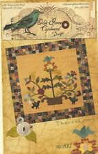 OLDE GREEN CUPBOARD DESIGNS - THREE'S A CROWD - EASY AND FAST MINI QUILT