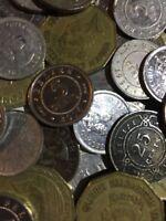 100 Gramm Restmünzen/Umlaufmünzen Belize