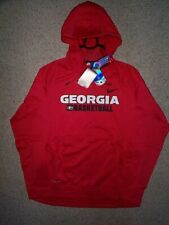 ($75) Georgia Bulldogs Basketball Jersey Sweatshirt Adult MENS/MEN'S (L-LARGE)