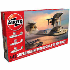 AIRFIX A09187 Supermarine Walrus 'Silver Wings' 1:48 Aircraft Model Kit