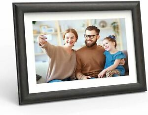 WiFi Digital Picture Frame 10-inch - Smart Photo Frame with Touch Screen - Elect