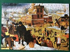"""OOP WOODEN WENTWORTH  PUZZLE """"TOWNSFOLK IN WINTER""""  250 PCS"""