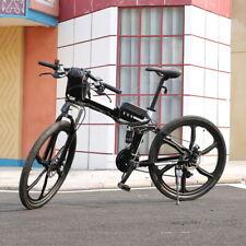 """26"""" Electric Bike Foldable Mountain Bicycle City E-Bike Ebike 36V Li-Ion Battery"""