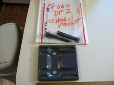 MOTOR Mounting STEEL Plate & Studs  ASSEMBLY From Tomlee Drill Press #75B
