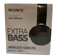Sony MDR-XB650BT/B Extra Bass Bluetooth Wireless Headphones-Black