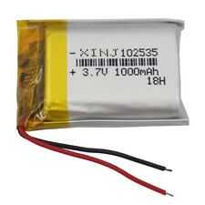 3.7V 1000mAh Rechargeable Polymer Li-ion battery For Camera PAD Tablet PC 102535