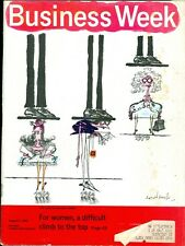 1969 Businessweek Magazine: Women- Difficult Climb to the Top