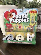 Vintage 1995 Levis Galoob Toys Pound Puppies + Charm Bracelet New