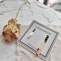 Personality Fashion Knife Punk Wind Women Gift Stud Earring Accessories Jewelry