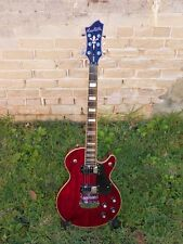 Hagstrom Swede Electric Guitar Trans Red #3504 Awesome Guitar!