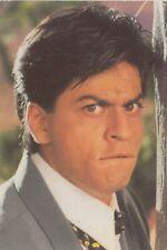 Shah Rukh  Khan Bollywood Rare Postcard Post Card