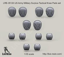 Live Resin 1:35 US Army Military Surplus Tactical Knee & Elbow Pads #LRE35120