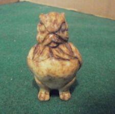Vintage Stone Owl Figurine