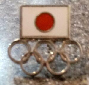Japan NOC Olympic Pin Rings Small
