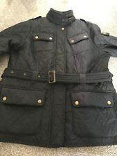 barbour ladies coat size 16 navy