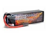 11.1V 9000mAh 60C-120C 3S LiPo Battery Pack Traxxas X-Maxx XMaxx6S Slash 4x4 VXL