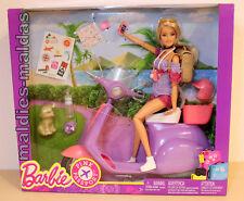 Barbie Pink Passport Barbie mit Scooter FNY34 NEU/OVP Puppe