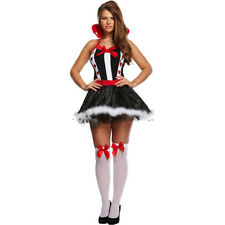 Womens Fancy Dress - Queen Of Hearts Costume - Halloween/New Year Party Cosplay