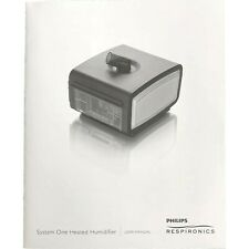 New listing Philips Respironics Remstar Plus C-Flex System One Heated Humidifier User Manual