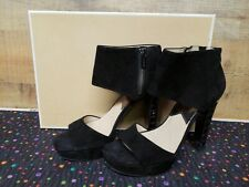 Michael Kors Josie Open Toe Black Women's Heels Shoes Size: 8.5M NWB