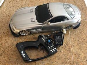 Mercedes Benz SLR Mclaren Radio  REMOTE CONTROL Maisto PLAYERZ 1/10 SCALE