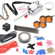 Front Rear Amber LED Universal Atv Utv Off road Turn Signal Kit w/4-way hazard