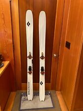 New listing BLACK DIAMOND CARBON CONVERT 172 CARBON FIBER TOURING SKIS WITH G3 AT BINDINGS