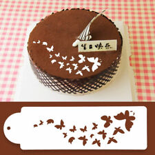 Lace Butterfly Stencil Cake Cookie Fondant Cupcake Decorating Baking Mould Mold