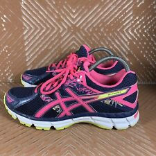 Asics Gel-Excite 3 Blue/Volt Hot-Pink Women's 8.5 Running/Training Shoes T5B9N