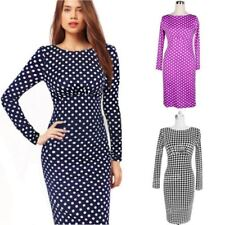 Knee Length Casual Winter Dresses for Women