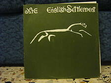 XTC-ENGLISH SETTLEMENT-2LP MINT -1982