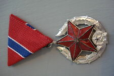 Hungary Hungarian AVH Public Security Medal KGB Class 2 II Silver Service