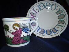 Royal Doulton IN PORCELLANA/Cina-Natale Tazza e piattino-L' ANNUNCIAZIONE-UK