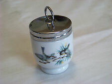 ROYAL WORCESTER: Porcelain EGG CODDLER - Birds  *Small Size*