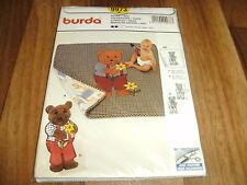 BURDA BABY-Schnittmuster 9973        2x   DECKE+KUSCHELBÄR