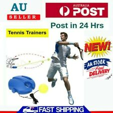 Single Tennis Trainer Training Practice Rebound Ball Back Base Tool Popular Us