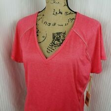 NEW TANGERINE Womens Active T Shirt Vneck Size XXL Top Coral Reef Sport Tee NWT