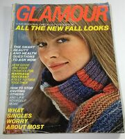 VTG Glamour Magazine: September 1976 - Charly Fashion Cover No Label/Newsstand