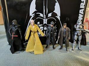 Hasbro Star Wars Sequel Trilogy  5 Figures Villians Lot 3.75