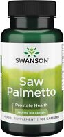 Swanson Saw Palmetto 100-500 Kap 540mg Sägepalme Hochdosiert Prostata