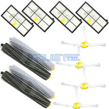 HEPA Filter Extractor Brushes Parts Kit for iRobot Roomba 800 870 880 900 980
