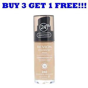 Revlon Colorstay Foundation 30ml For Combination/Oily Skin Medium Beige 240