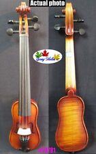 "Baroque style Pochette SONG Brand violin 5 3/4"",great sound #10781"