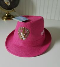 Pink Robert Renzoni Vineyard Fedora Hat Temecula Napa Wine Country Wilson Coast