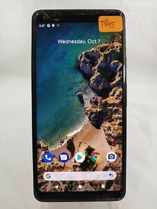 GOOGLE PIXEL 2 XL G013C 64GB GSM Unlocked Smart Cellphone Black T845