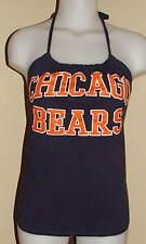 Ladies Chicago Bears Reconstructed NFL Gameday Shirt Halter Top DiY