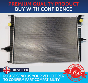 RADIATOR TO FIT RENAULT FLUENCE 2010 TO 2016 1.6 PETROL K4M ENGINES ONLY