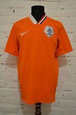 NETHERLANDS HOME FOOTBALL SHIRT 2008/2009/2010 SOCCER JERSEY HOLLAND MENS L